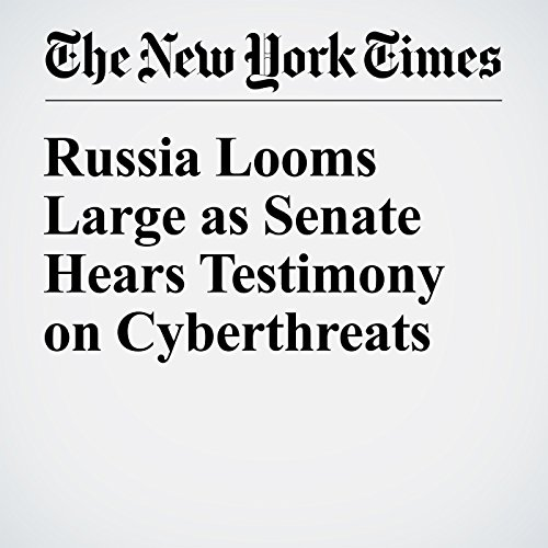 Russia Looms Large as Senate Hears Testimony on Cyberthreats cover art