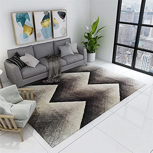 Alfombras Lavables Alfombra Colores Alfombra de teñido degradado de color café gris, gran sala de estar, oficina, estudio, comedor, cocina, entrada por la puerta principal, caja fuerte y lavable a máq