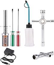 Ktyssp Nitro Starter Glow Plug Igniter Charger Tools Fuel Bottle Combo for Redcat HSP