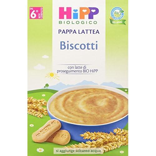 Hipp Pappa Lattea Biscotto - 3 pezzi da 250 gr [750 gr]