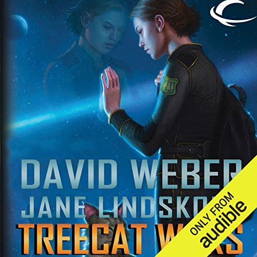 Treecat Wars     Star Kingdom, Book 3              By:                                                                                                                                 David Weber,                                                                                        Jane Lindskold                               Narrated by:                                                                                                                                 Khristine Hvam                      Length: 10 hrs and 55 mins     7 ratings     Overall 4.3