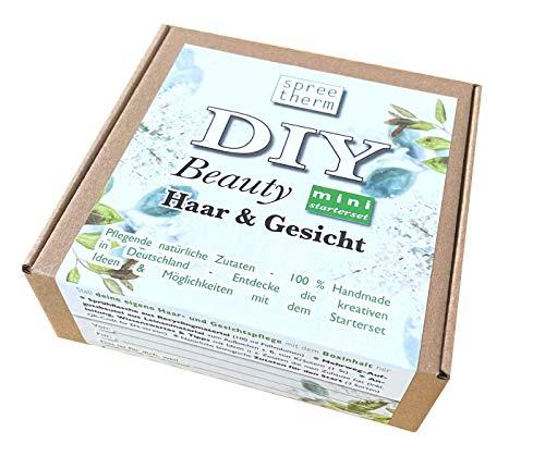 DIY Haar - & Gesichtspflege Set von spreetherm inkl. Sprühflasche aus Recyclingmaterial, natürlichen Zutaten uvm. |Geschenk für Freundin