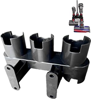 ITidyHome Docks Station Accessory Tool Holders Fit for Dyson V10, V8, V7 Vacuum Cleaner,Vacuum Cleaner Wall Mount Bracket,7 Docks Station
