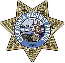 EW Designs California Highway Patrol Seal Sticker Decal Vinyl CHP Chips Bumper Sticker Vinyl Sticker Car Truck Decal 5