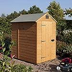 Rowlinson 6x4 Shiplap Wooden Shed