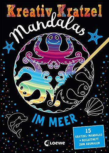 Kreativ-Kratzel Mandalas - Im Meer: für Mädchen ab 5 Jahre