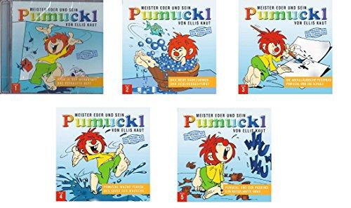Meister Eder und sein Pumuckl CD-Hörspiel Set Folge 1-5 - Deutsche Originalware [5 CDs]