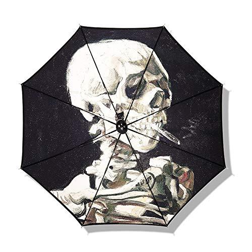 TXOZ Regenschirm Windsicher Regenschirm lange Gerade Golf Regenschirm Sonnenschirm umge Regenschirm Handgemachte Regenschirm-gerades Regenschirm Square-Schirm Wasserdichte Sonnenschutz Zwei Personen V