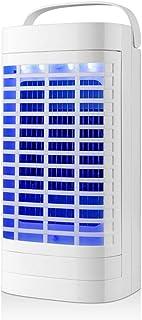 SXZSB Lámpara Antimosquitos Electrico, 5W UV Lámpara Anti Mosquitos Interior con Caja De Recogida, para Mata Mosquitos, Insectos, Polillas, Moscas,Blanco