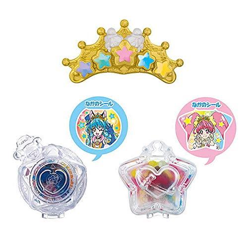 Star Twinkle Precure Narikiri Cure 4 [Assorted Set of 3 (3. Pretty Cure Twinkle Tiara / 5. Transform Star Color Pendant Case / 6. Shiny Twinkle Le Pen Case)] miniature toy