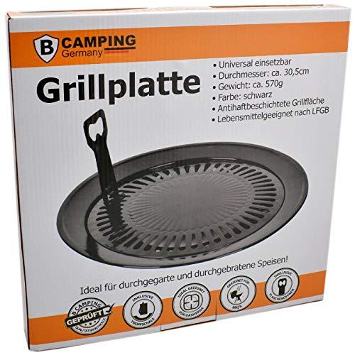 Campingkocher 8 Gaskartuschen – Gasherdkreuz – Grillaufsatz - 6