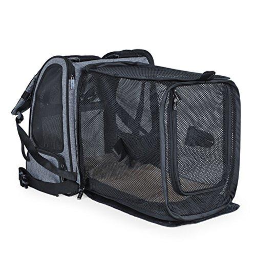 Rugzakken & Slings Pet Out Rugzak Folding Pet Expansion Bag Small Pet Box Draagbare Hond Rugzak Multi-functionele Ademende kat nest auto huisdier tas belasting 10kg