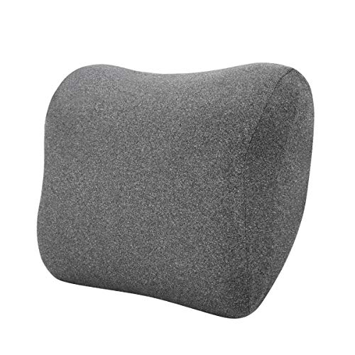 Amazon Basics - Almohada viscoelástica para cuello, gris
