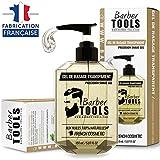 BARBER TOOLS Gel de afeitado transparente de 150 ml - Para un afeitado preciso de los contornos de...