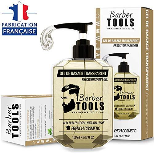 Barber Tools Gel de Rasage Transparent