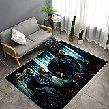 Alfombra de los niños Harry Potter alfombras Antideslizantes Lavable Tocando Alfombra (Color : 7, Size : 80 × 120 cm)