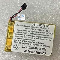 電池パックGarmin腕時計用バッテリー内蔵バッテリーFor Garmin Sports Watch 361-00076-01 Battery交換用のバッテリー 電池互換3.7V 240mAh/0.88Wh