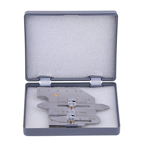 Edelstahl HJC-40 Schweißlehre Filet Gage Undercut Gauge für die Prüfung von geschweißten Oberflächen und Gelenke