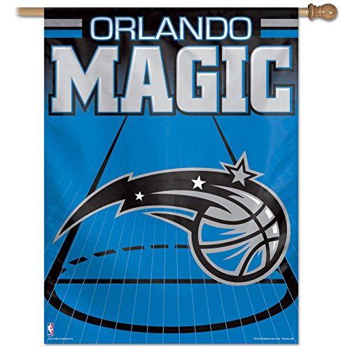 "NBA Orlando Magic Vertical Flag, 27 x 37"", Multicolor"