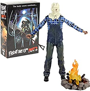 Jason Lives Pamela Voorhees Action Figure Final Chapter Jason 3D Mask Saw Axe Sword Knife Horror Model Toys Must Have Gifts Girl S Favourite Superhero Birthday