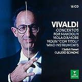 Vivaldi: Concertos For Wind Instruments (Box - 16 CDs)
