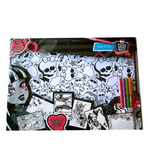 Anker - Ankmhpa - Loisirs Créatifs - Fait Tes Posters - Monster High