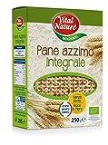 Vital Nature Spa Pane Azzimo Integrale Bio - Pacco da 12 x 250 g