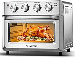 AUMATE Air Fryer Oven, Airfryer Toaster Oven,19QT Oil Free Electric Hot Air Fryers Oven,Convection Roaster Oven,...