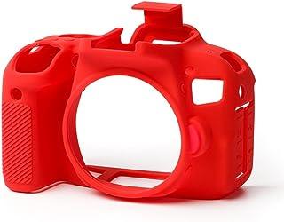 Easycover Canon 800D / T7i Kırmızı Silikon Kılıf