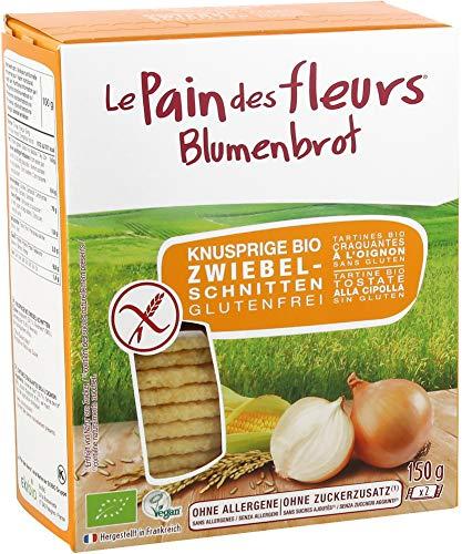 Blumenbrot Bio Knusprige Bio Zwiebel-Schnitten (6 x 150 gr)