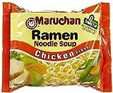 Maruchan Ramen Noodle Soup Chicken Flavor, 12 ct, 8 Ounce (Pack of 12)