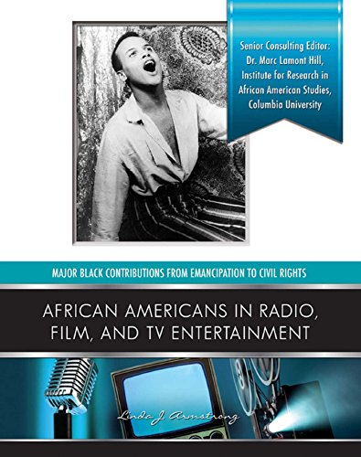 African Americans in Radio, Film, and TV Entertainers (Major Black Contributions from Emancipat) (English Edition)