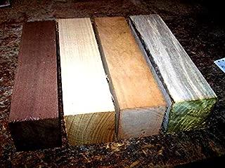 Wood) Walnut, Honey Locust, Hickory, Sycamore Turning Blanks Wood Lumber 3 X 3 X 12