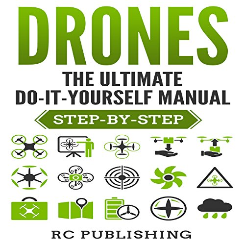Drones: The Ultimate Do-It-Yourself Manual audiobook cover art