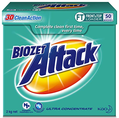 Biozet Attack Regular Laundry Detergent