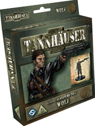 Fantasy Flight Games TH02 - Tannhäuser: Wolf Figure