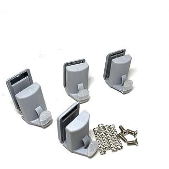 SmoothLY 106-4 - Rodamientos para mampara de ducha , 4 unidades ...
