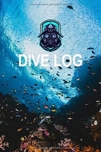 Dive Log: Taucher Logbuch zum dokumentieren von 108 Tauchgängen   Für Gerätetaucher, Tauchkurs, Tauchschein