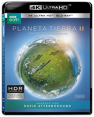 Planeta tierra II UHD + BD [Blu-ray]