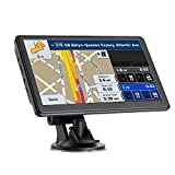 Car GPS Navigation, 7-inch High-Definition Display, The Latest Map of North America,(Free Updates for Life)