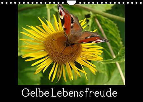 Gelbe Lebensfreude (Wandkalender 2022 DIN A4 quer)