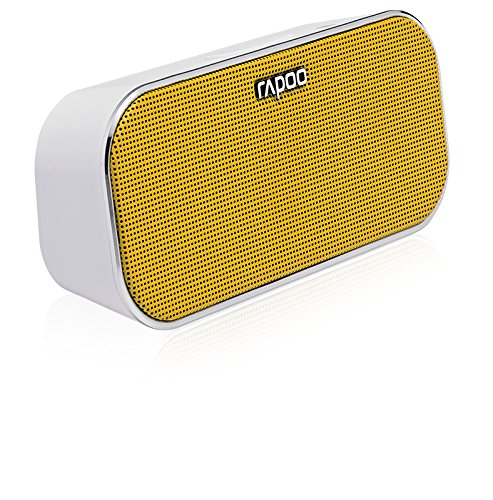 Rapoo A500 Tragbarer Bluetooth NFC Lautsprecher (Freisprechfunktion, Dual Mode) gelb