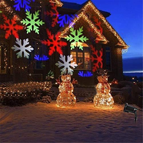 SDD LED Weihnachtslicht Im Freien Wasserdichte Schneeflocke Projektor Beleuchtung Rasen Bühnengarten Dekoration