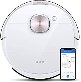 ECOVACS DEEBOT OZMO T8 Robot Vacuum Cleaner, 2-in-1 Vacuuming & Mopping with dToF Technology, Custom Cleaning, Multi-floor...