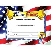 Certificates Merit Award 30/Pk