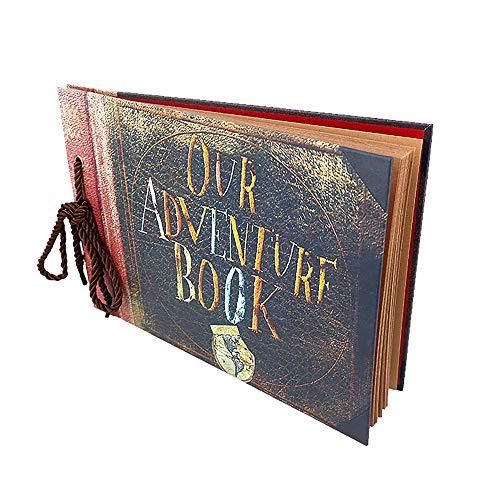 Photo Album Scrapbook Gift DIY Handmade Album Scrapbook Movie Up Travel Scrapbook...