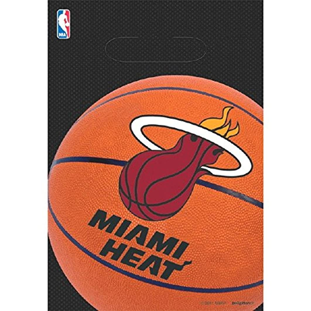 Miami Heat NBA Collection Loot Bags, Party Favor