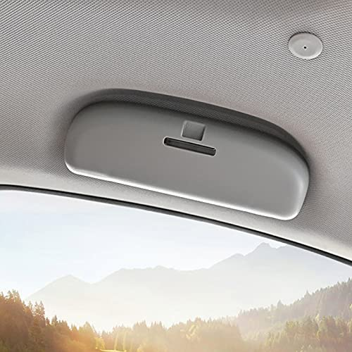 Lyqfff para Toyota RAV4 CHR Camry Corolla Prius Reiz Venza Highlander Prado Sequoia 2012-2021, Caja de Soporte para Gafas de Sol de Coche