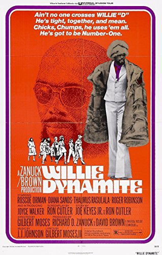 Da Bang Willie Dynamite Movie Poster Blaxploitation Shaft Superfly 24x36inch