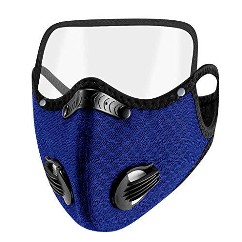 YpingLonk 1pc Unisex Bufanda para Adultos - Moda Universal elástico Earloop Suave Lindo para el Trabajo Diario al Aire Libre - 10120-4